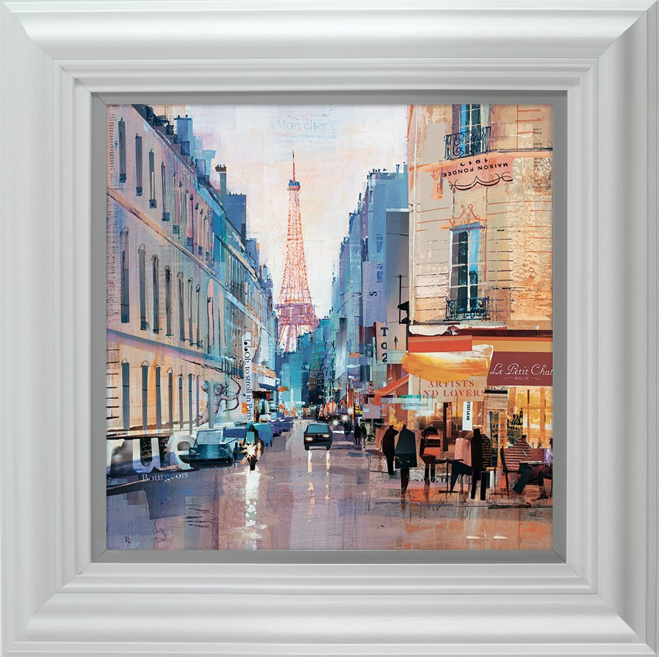 Love Rue by Tom Butler - Hand Finished Limited Edition on Paper sized 16x16 inches. Available from Whitewall Galleries